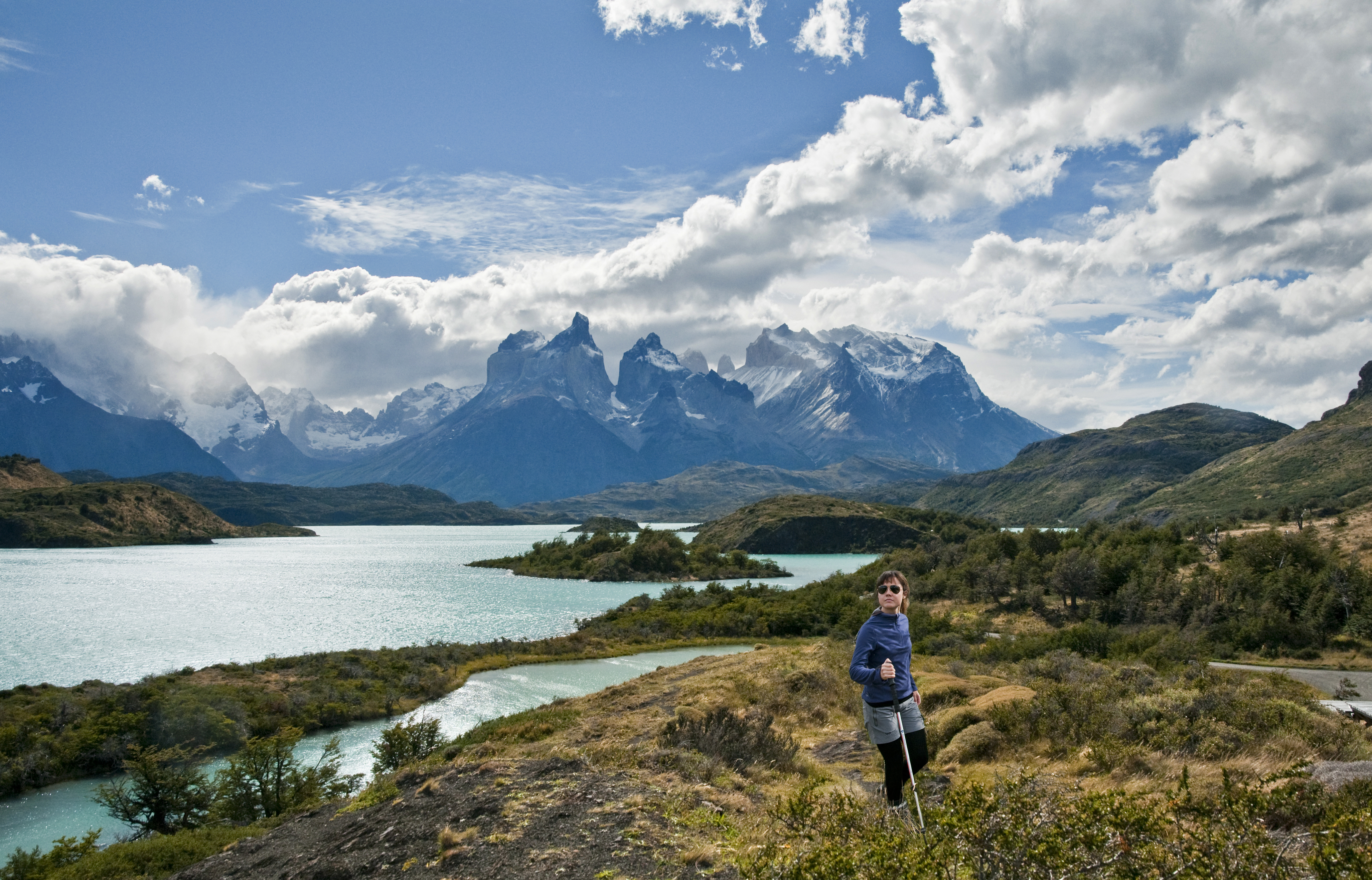 Hiking in Patagonia, Chile